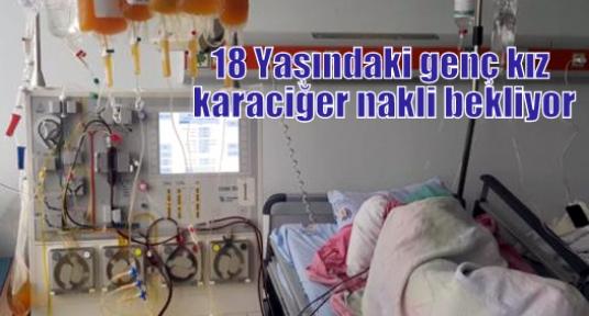 18 Yaşındaki genç kız karaciğer nakli bekliyor