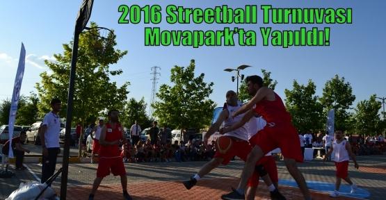 2016 Streetball Turnuvası Movapark'ta Yapıldı!
