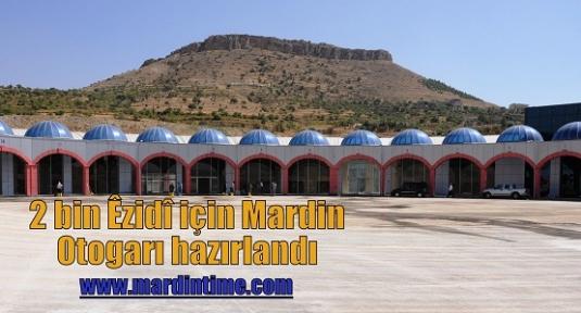 2 bin Êzidî için Mardin Otogarı hazırlandı