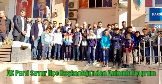 AK Parti Savur İlçe Başkanlığı'ndan Anlamlı Program