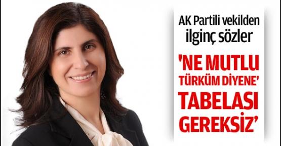 AK Partili vekilden ilginç sözler