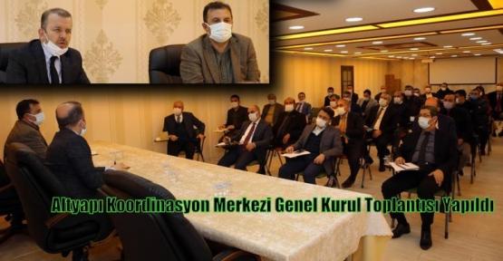 Altyapı Koordinasyon Merkezi Genel Kurul Toplantısı Yapıldı