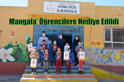 Anadolu Kültürü'nün Köklü Oyunlarından 'Mangala' Öğrencilere Hediye Edildi