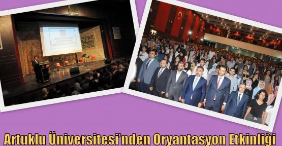 Artuklu Üniversitesi'nden Oryantasyon Etkinliği