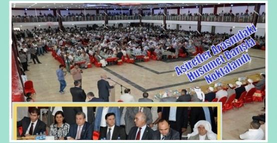 Aşiretler Arasındaki Husumet Barışla Noktalandı