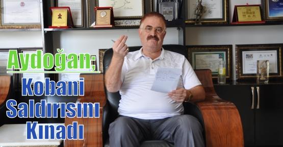 Aydoğan; Kobani Saldırısını Kınadı
