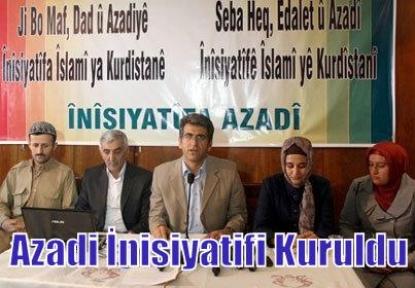 Azadi İnisiyatifi Kuruldu