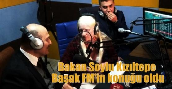 Bakan Soylu Kızıltepe Başak FM'in konuğu oldu