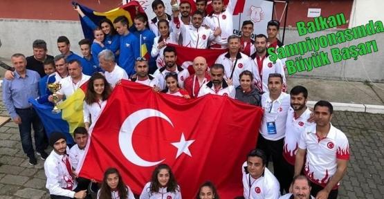 Balkan Şampiyonasında Büyük Başarı