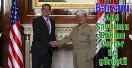 Barzani, ABD Savunma Bakanı Carter ile görüştü