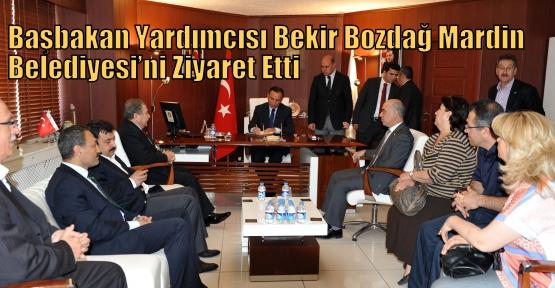 Başbakan Yardımcısı Bekir Bozdağ Mardin Belediyesi'ni Ziyaret Etti