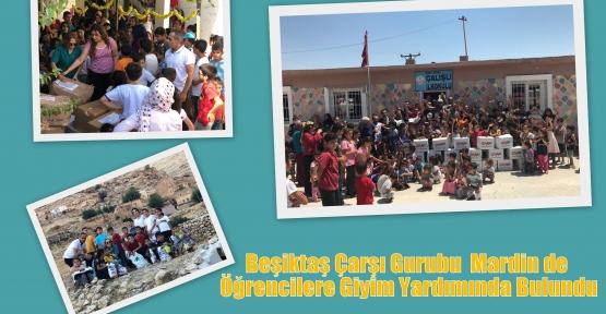 Beşiktaş Çarşı Gurubu  Mardin de Öğrencilere Giyim Yardımında Bulundu