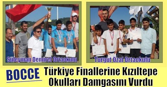 BOCCE Türkiye Finallerine Kızıltepe Okulları Damgasını Vurdu