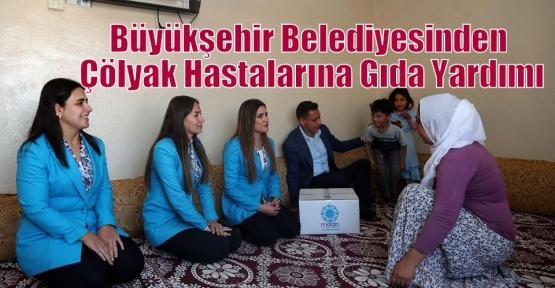 Büyükşehir Belediyesinden Çölyak Hastalarına Gıda Yardımı