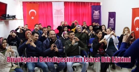 Büyükşehir Belediyesinden İşaret Dili Eğitimi