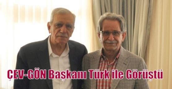 ÇEV-GÖN Başkanı Türk ile Görüştü