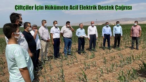 Çiftçiler İçin Hükümete Acil Elektrik Destek Çağrısı