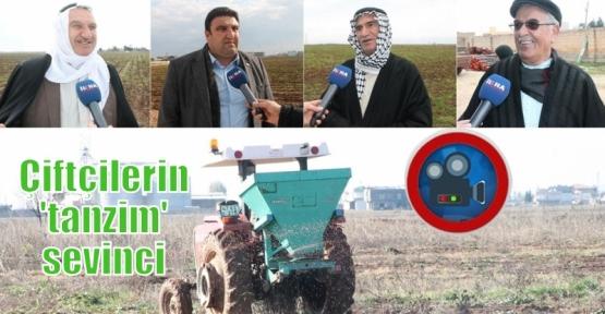 Çiftçilerin 'tanzim' sevinci