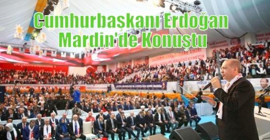 Cumhurbaşkanı Erdoğan Mardin'de Konuştu
