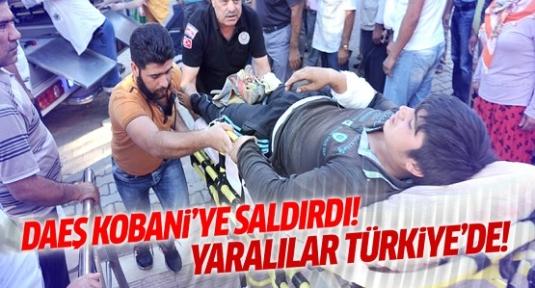 DAEŞ Kobani'ye bomba yüklü araçlarla saldırdı