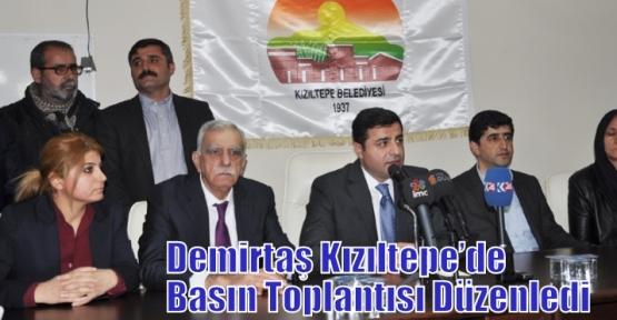 Demirtaş Kızıltepe'de Basın Toplantısı Düzenledi