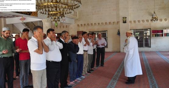 Derik'te Mısır Devlet Başkanı Gıyabında Cenaze Namazı Kılındı