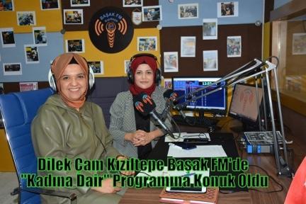 Dilek Çam Kızıltepe Başak FM'de