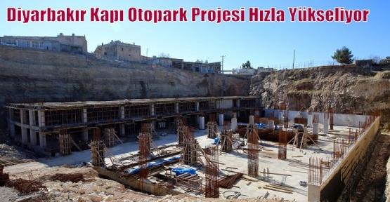 Diyarbakır Kapı Otopark Projesi Hızla Yükseliyor