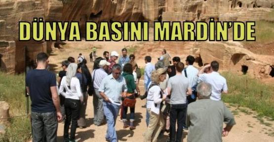 DÜNYA BASINI MARDİN'DE