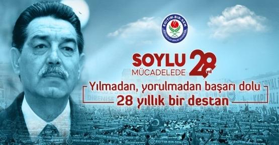 """Eğitim-Bir-Sen;"""" Türkiye'nin her demokratik kazanımında teri, yeri ve payı vardır"""""""