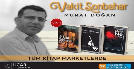 Eğitimci-Şair Murat DOĞAN'ın 3. Kitabı Vakit Sonbahar  Okuyucularıyla Buluştu