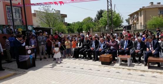 Kızıltepe Eymirli Ortaokulu'nda Bahar Şenlikleri Düzenlendi
