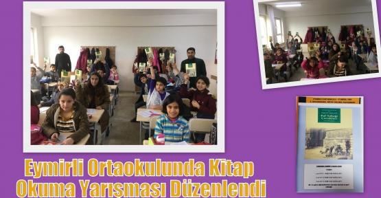 Eymirli Ortaokulunda Kitap Okuma Yarışması Düzenlendi