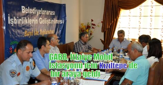 GABB, İtfaiye Mobil İstasyonu için Kızıltepe'de bir araya geldi