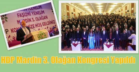 HDP Mardin 3. Olağan Kongresi Yapıldı