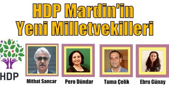 HDP Mardin'in Yeni Milletvekilleri
