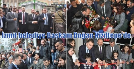 İzmit belediye Başkanı Doğan Kızıltepe'de