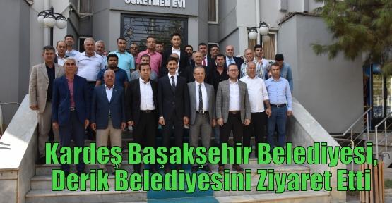 Kardeş Başakşehir Belediyesi,Derik Belediyesini Ziyaret Etti