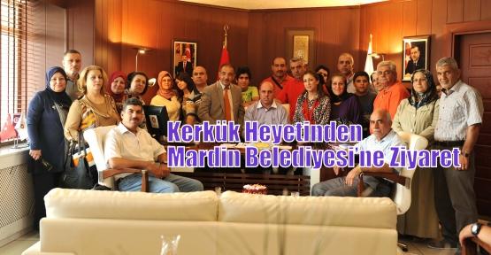 Kerkük Heyetinden  Mardin Belediyesi'ne Ziyaret