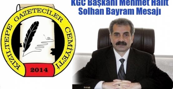 KGC Başkanı Mehmet Halit Solhan Bayram Mesajı Yayınladı
