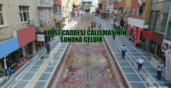 KİLİSE CADDESİ ÇALIŞMASININ SONUNA GELDİK