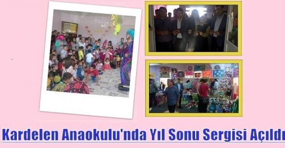 Kızıltep Kardelen Anaokulu'nda Yıl Sonu Sergisi Açıldı