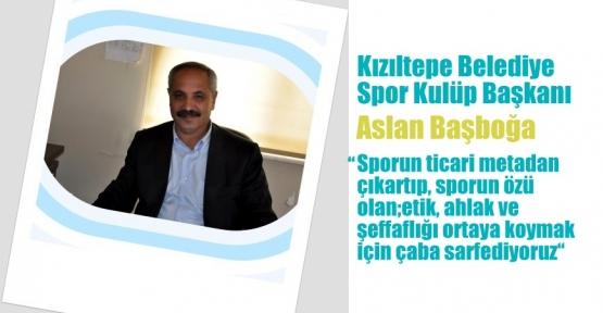 Kızıltepe Belediye Spor Futbolda Alt Yapı Çalışmalarına Start Verdi