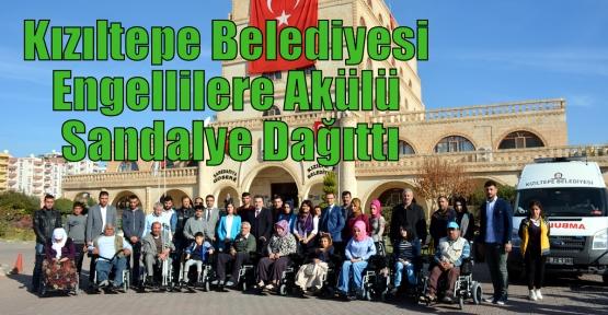 Kızıltepe Belediyesi Engellilere Akülü Sandalye Dağıttı