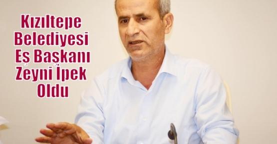 Kızıltepe Belediyesi Eş Başkanı Zeyni İpek Oldu