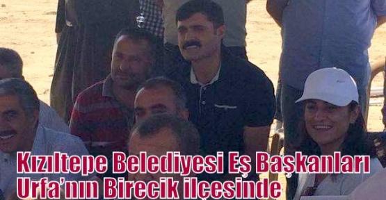 Kızıltepe Belediyesi Eş Başkanları Urfa'nın Birecik ilçesinde