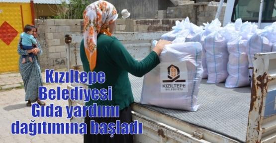 Kızıltepe Belediyesi Gıda yardımı dağıtımına başladı