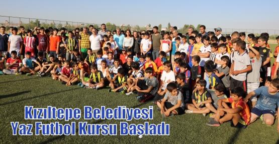 Kızıltepe Belediyesi Yaz Futbol Kursu Başladı