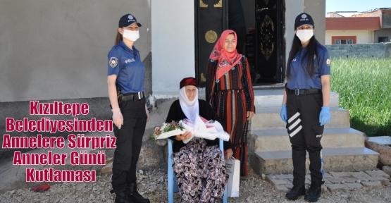 Kızıltepe Belediyesinden Annelere Sürpriz Anneler Günü Kutlaması
