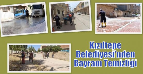 Kızıltepe Belediyesi'nden Bayram Temizliği